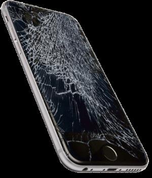 rozbitý phone